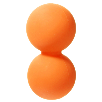 Harga Double Lacrosse Ball Mobility Myofascial Trigger Point Release Massage Exercise Orange - Intl