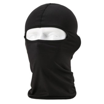 Harga Black Cycling Ski Neck protecting Outdoor Full Face Mask - intl