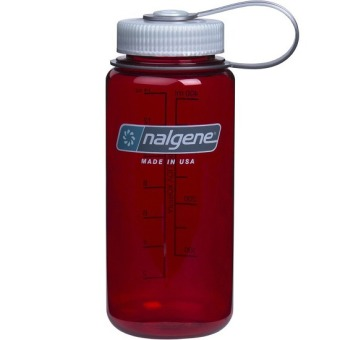 Harga Nalgene 16oz Wide Mouth Bottle (Outdoor Red)