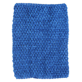 Harga Crochet Tube Top elastic Waistband Royal Blue