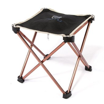 Outdoor Foldable Folding Fishing Picnic BBQ Garden Chair Tool Stool - intl