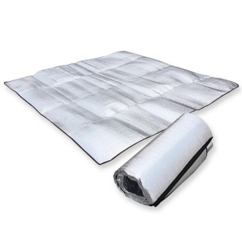 Sleeping Mattress Mat Pad Waterproof Aluminum Foil EVA Outdoor Camping Mat (Intl) - intl