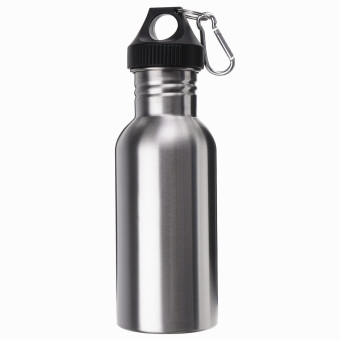 Harga Stainless Steel Wide Mouth Water Bottle 500ML