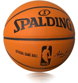 Harga Spaldingl Professional Size 7 NBA Basketball ( Free Needles and Net ) - intl