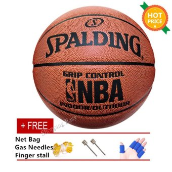 Harga Spalding Grip Control Indoor/Outdoor Basketball - intl