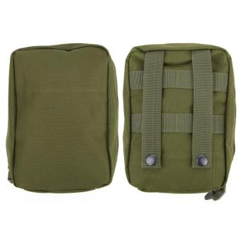 Harga Airsoft Molle Tactical Medical Military First Aid Sling Pouch(Green) - intl