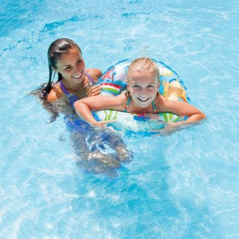 Harga Children Floaties Floating ring Inflatable Swimming Seat Water Seat Lifebuoy