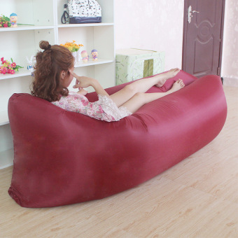 Harga Bean laybag hangout inflatable air bag/air sofa
