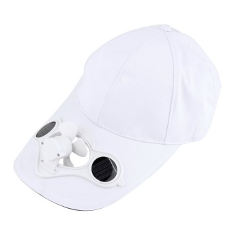 Harga OH Summer Sport Outdoor Hat Cap with Solar Sun Power Cool Fan For Cycling