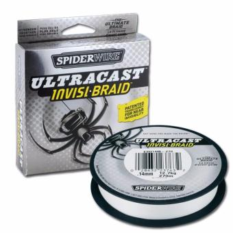Harga Spiderwire Ultracast Invisi-Braid 10lb 125yd Translucent