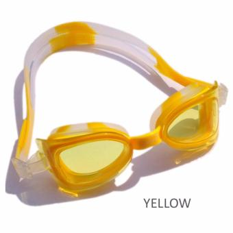 Harga [Junior Swim Goggoles 4yr~12yr] Anti-Fog No Leak Swim Goggles Unisex Kid UV Protection Comfortable Fit Adults Free Protection case
