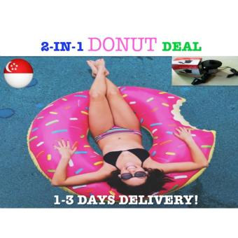 Harga *PACKAGE DEAL*Pink Donut Swimming Float Giant Float