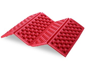 XPE Ground Mat Foldable Picnic Moisture-proof Pad Anti-slip Foam(Red) - intl