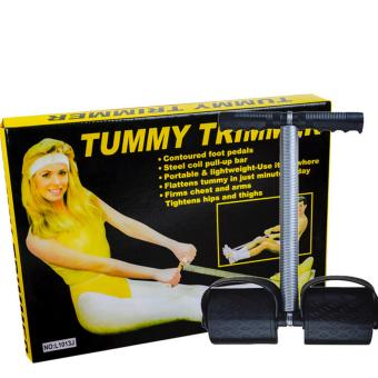 Harga Tummy Trimmer/flattens tummy in just minutes a day/ steel coil pull-up bar