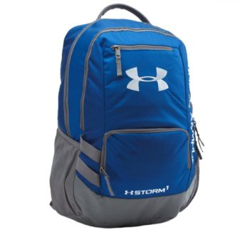 Harga Under Armour Hustle Backpack bag (Royal)