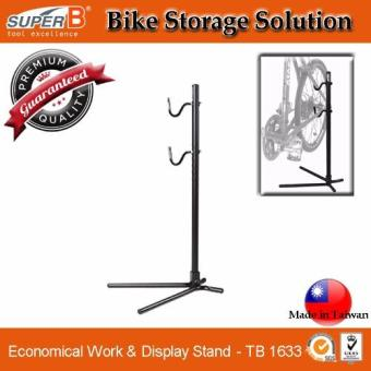 Harga [SuperB] Super Bike Tool. TB 1633 Economical Work & Display Stand . Bicycle Storage Stand. Repair Stand. 20 - 29 inches. Fit most Shimano and Campagnolo Wheelset. Road and Mountain Bike.
