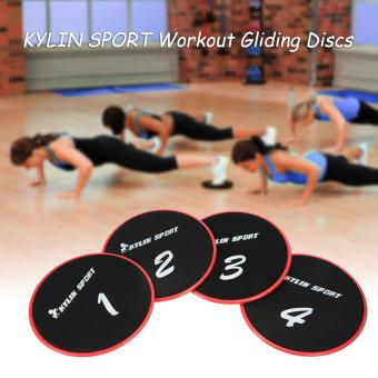 KYLIN SPORT Workout Gliding Discs Glide Exercise Core Slider Cross Training Abdominal Workout Core Sliding Disc - intl
