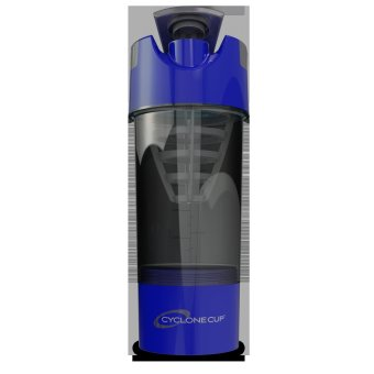 Harga Cyclone Cup 20oz Blender Mixer Bottle Protein Shaker with Compartment - Blue