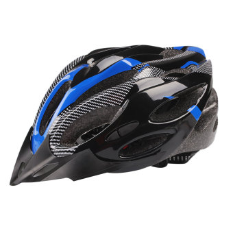Harga Cycling Helmet Adjustable Mountain Safety Unisex Shockproof ultralight Visor