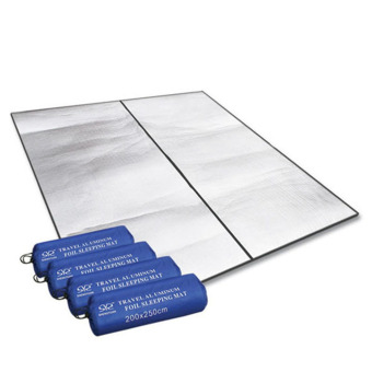 Double-sided Aluminum Moisture-proof Pad Mat Waterproof Aluminum Foil Cushion Outdoor Camping Tent Pad(Export)