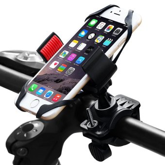 Harga Motorcycle & Bike Cell Phone Mount, Comfkey Universal Cell Phone Bicycle Rack Handlebar & Motorcycle Holder Cradle for iPhone 6 6(+) 6S 6S plus 5S 5C, Samsung Galaxy S3 S4 S5 S6 S7 Note 3/4/5,Nexus,HTC,LG,BlackBerry - intl