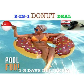 Harga *PACKAGE DEAL*Chocolate Donut Float Swimming Float Giant Float
