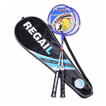 Harga badminton racket set - intl