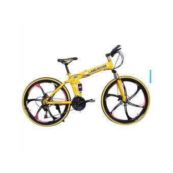 Harga JIJI 26 Inch Land Rover Foldable Bicycle (Free Assembly) Bike/ Bicycle/ Land Rover/ Heavy Duty/ High Carbon Steel