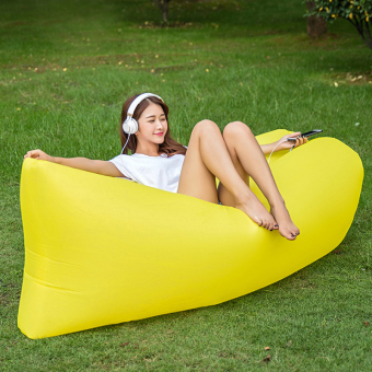 LoveLife portable-Inflatable sofa bed outdoor LR pockets air singlesleeping bag water outdoor beach bed