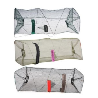 New Crab Fish Crawdad Shrimp Minnow Fishing Bait Trap Cast Dip Net Cage