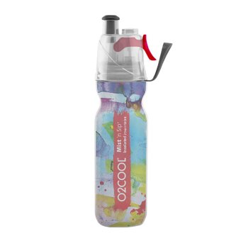 O2COOL 20oz Watercolor C Insulated ArcticSqueeze(R) Mist 'N Sip(R)