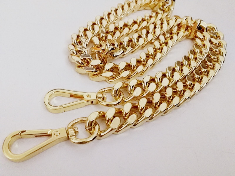 15mm gold wide bag chain metal chain bag chain (With buckle long a m version2)