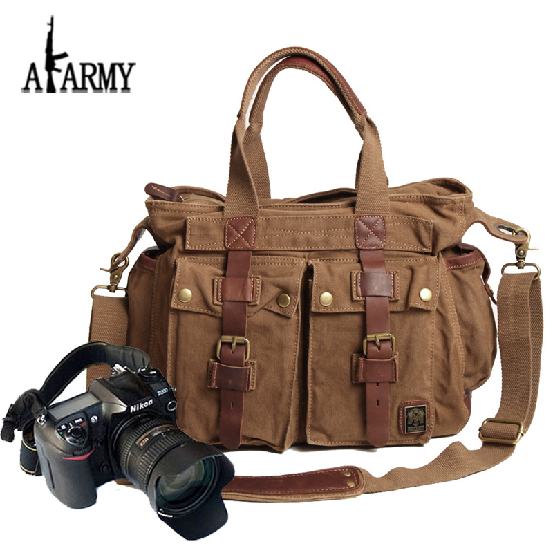 Akarmy shoulder portable camera bag digital SLR camera bag