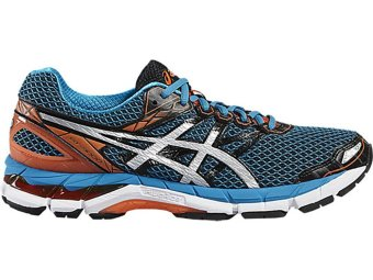 ASICS GT-3000 4, RUNNING SHOES, (BLACK/SILVER/BLUE JEWEL)