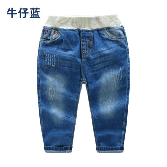 Baobao kz-a411 casual New style children's long pants jeans