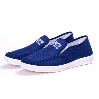 Harga Breathable student trendy shoes casual shoes (Blue) (Blue)