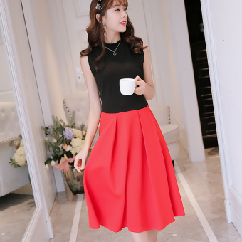 Caidaifei Korean-style spring and summer New style slimming casual dress