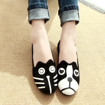 Cartoon cat Cute Shoes scoop shoes (Dogs and cats each a only)