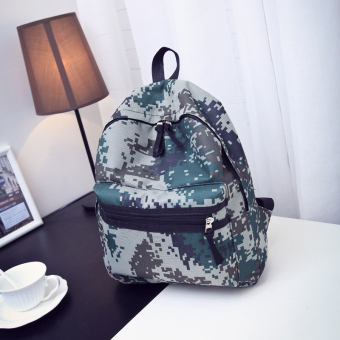 Celebrity inspired camouflage shoulder bag (STYLE)