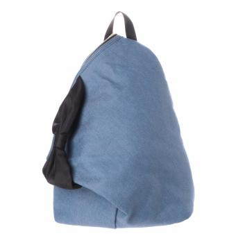 COLORS by Jennifer Sky Denim Series Triangle Backpack (Blue COLOR)