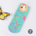 Cute cotton spring and summer no-show socks cartoon socks (7)