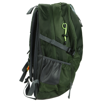 Fashion Waterproof Outdoor Sports Shoulder Bag Travel Backpack (Army Green) - 2