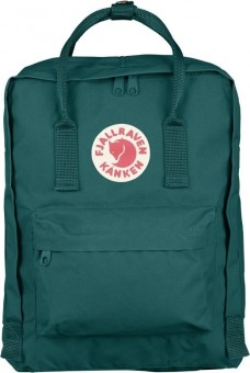 Fjallraven Kanken Classic Backpack (645 Ocean Green)
