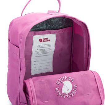 Fjallraven Kanken Re-Kanken Classic Backpack - Pink Rose - 3