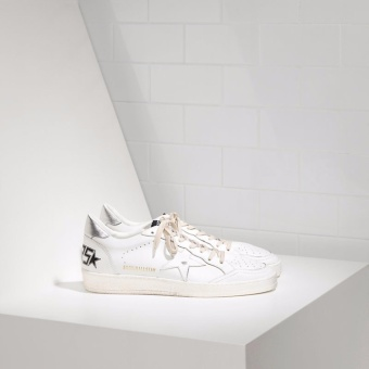 Golden Goose DB Ball Super Star Sneakers In Leather With Leather Star - intl