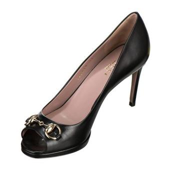 Gucci Gisele Open Toe (Black)