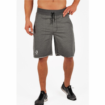 Gym shark brother Men's Fitness Sports shorts pants (Gray)