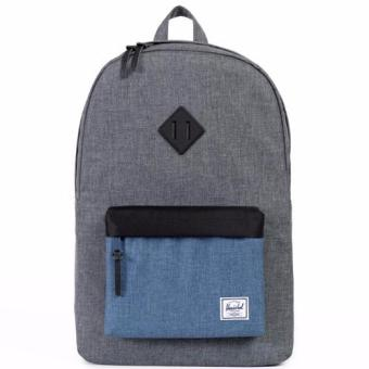 Harga Herschel Supply Co - Heritage - Charcoal Crosshatch Blue