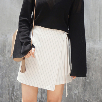 "Homemade lace striped skirts (Off-white ""spot goods ?)"