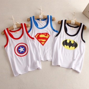 I boy's summer vest (Superman)